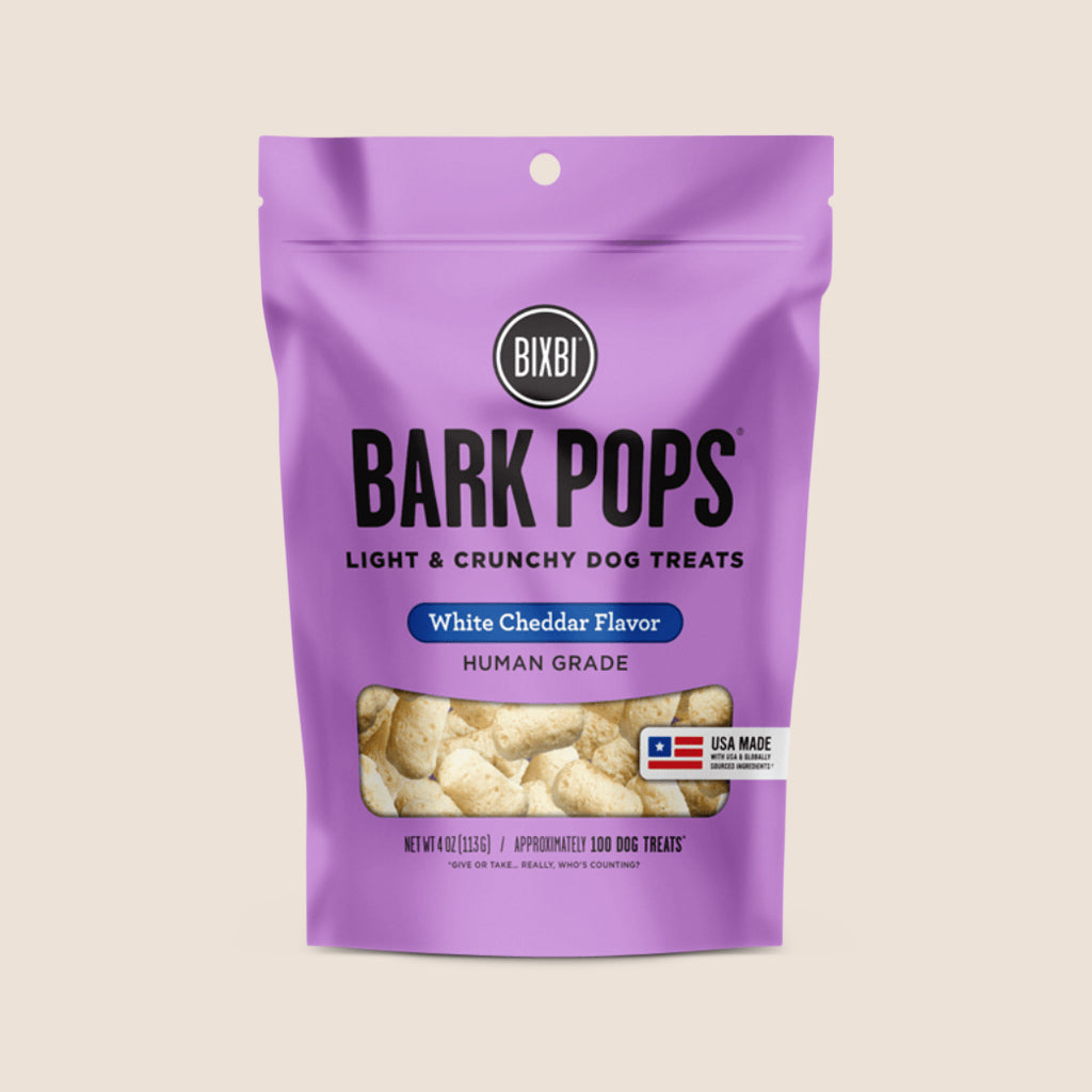 Bixbi Treats Bixbi Bark Pops White Cheddar Treats