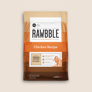 Bixbi Dry Dog Food Bixbi Rawbble Grain-Free Chicken Dog Food Recipe