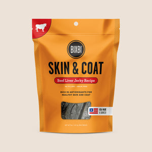 Bixbi Treats Bixbi Skin & Coat Beef Jerky Treats