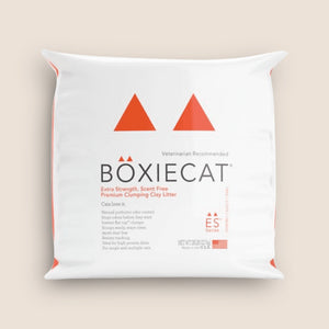 BoxieCat Cat Litter BoxieCat Extra Strength, Scent Free Premium Clumping Clay Litter