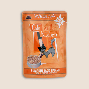 Cats in the Kitchen Cat Food Can Cats in the Kitchen Pumpkin Jack Splash 3 Ounce Pouch