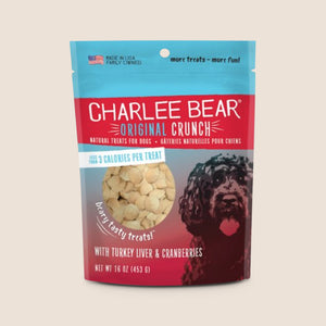 Charlee Bear Treats Charlee Bears Original Crunch Treat With Turkey Liver & Cranberries