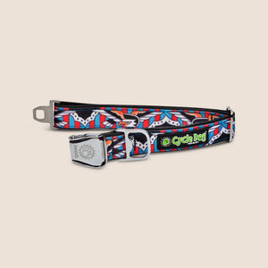 CycleDog Accessories Eagles / Large CycleDog Tattoo Series Dog Collars