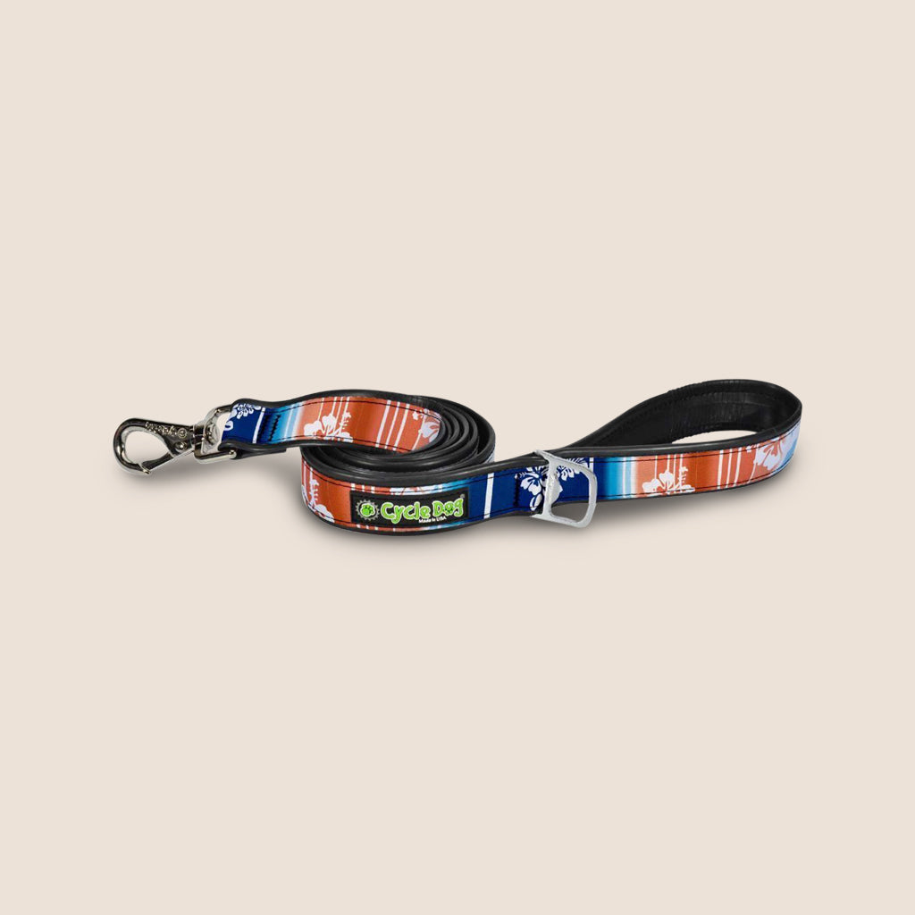 CycleDog Accessories Surfer Floral CycleDog Tropical Series Dog Leashes