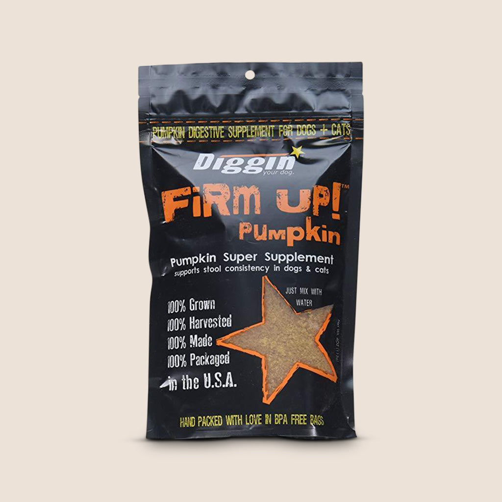 Diggin' Your Dog Supplement 1oz Bag Diggin' Your Dog Firm Up Pumpkin