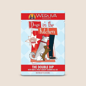 Weruva Canned Dog Food Dogs in the Kitchen Double Dip Pouch
