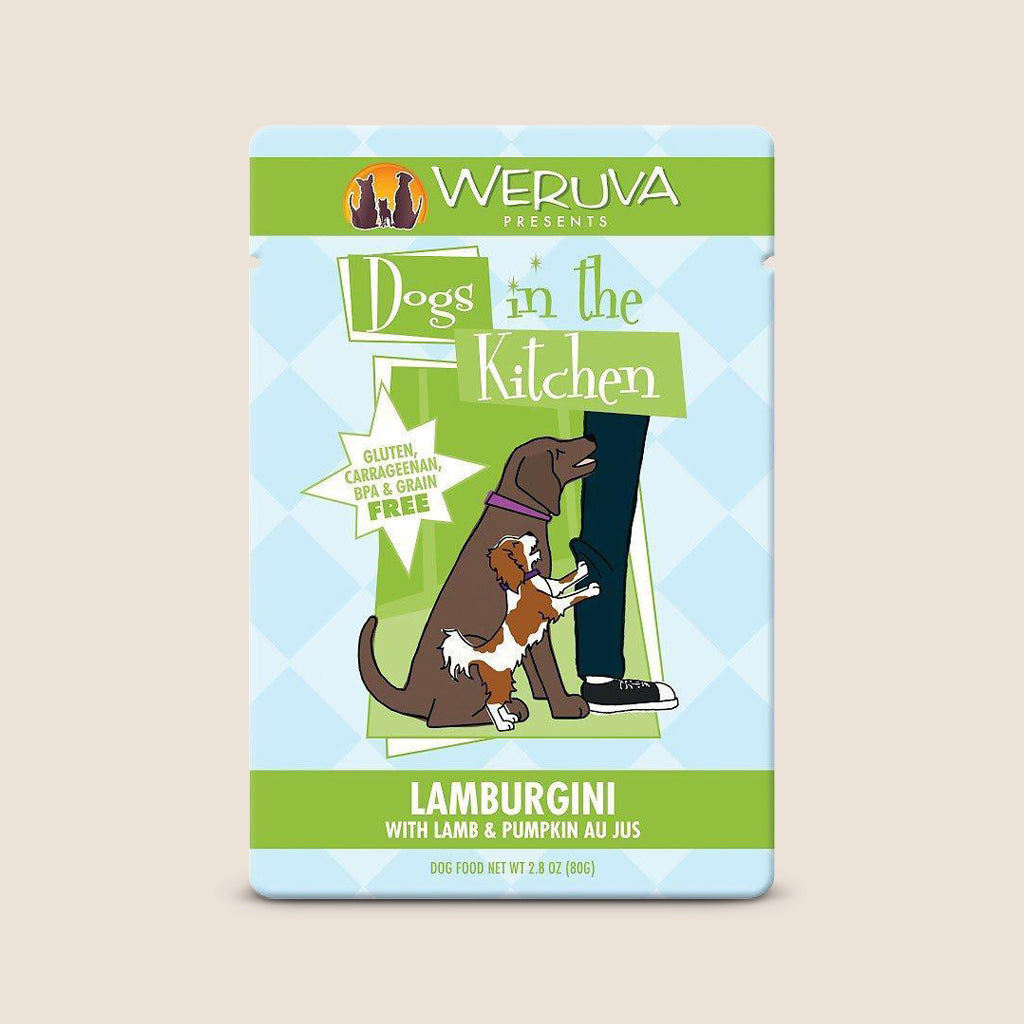 Weruva Canned Dog Food Dogs in the Kitchen Lamburgini Pouch