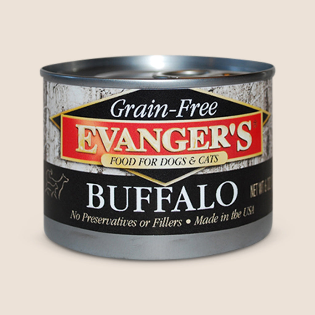 Evanger's Canned Dog Food Evanger's 100% Buffalo - Grain Free