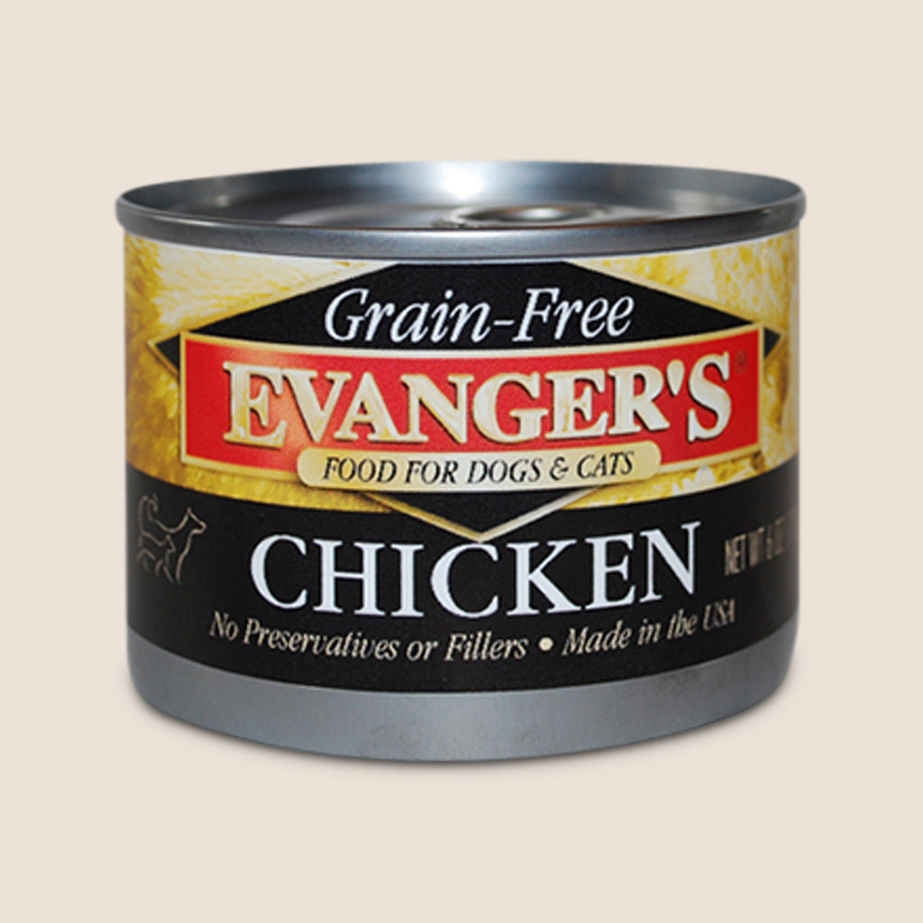 Evanger's Canned Dog Food Evanger's 100% Chicken - Grain Free