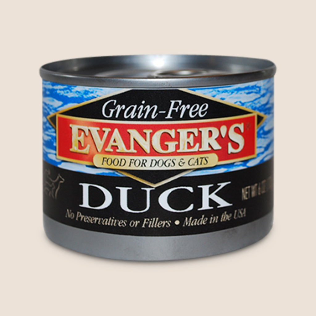 Evanger's Canned Dog Food Evanger's 100% Duck - Grain Free
