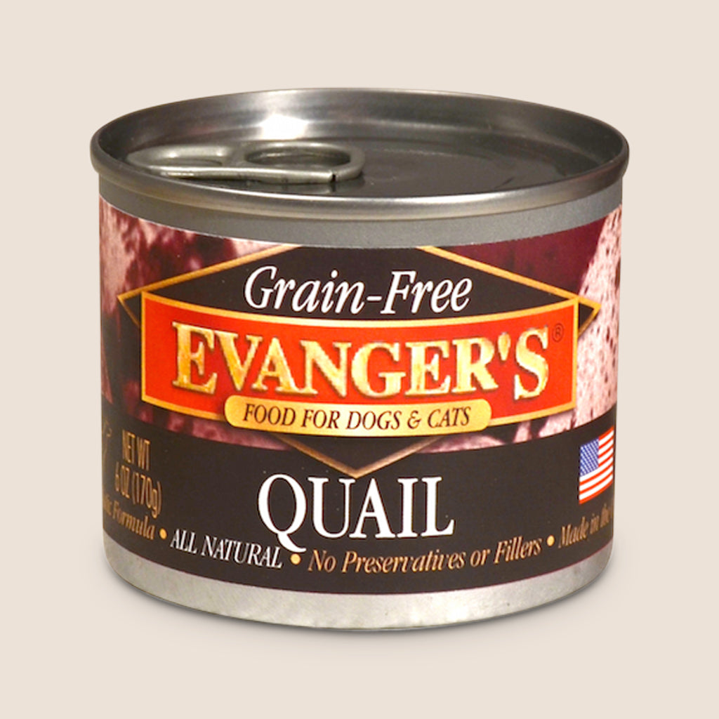 Evanger's Canned Dog Food Evanger's 100% Quail - Grain Free