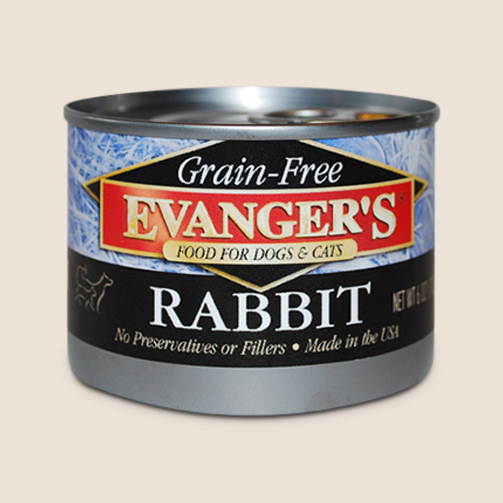 Evanger's Canned Dog Food Evanger's 100% Rabbit - Grain Free