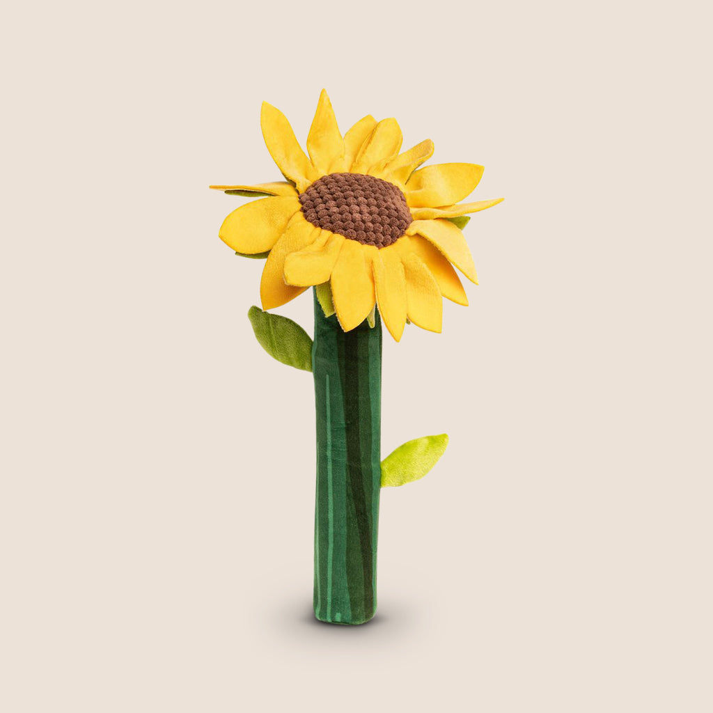 FabDog dog toy Fabdog Bendies Sunflower