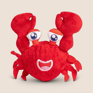 FabDog dog toy Medium Fabdog Faballs Crab