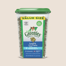 Load image into Gallery viewer, Greenies Dental Feline Greenies 11oz Tub