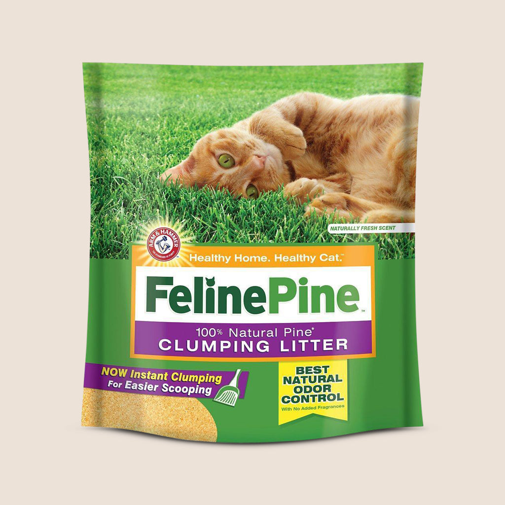 Church & Dwight Cat Litter Feline Pine Clumping Litter