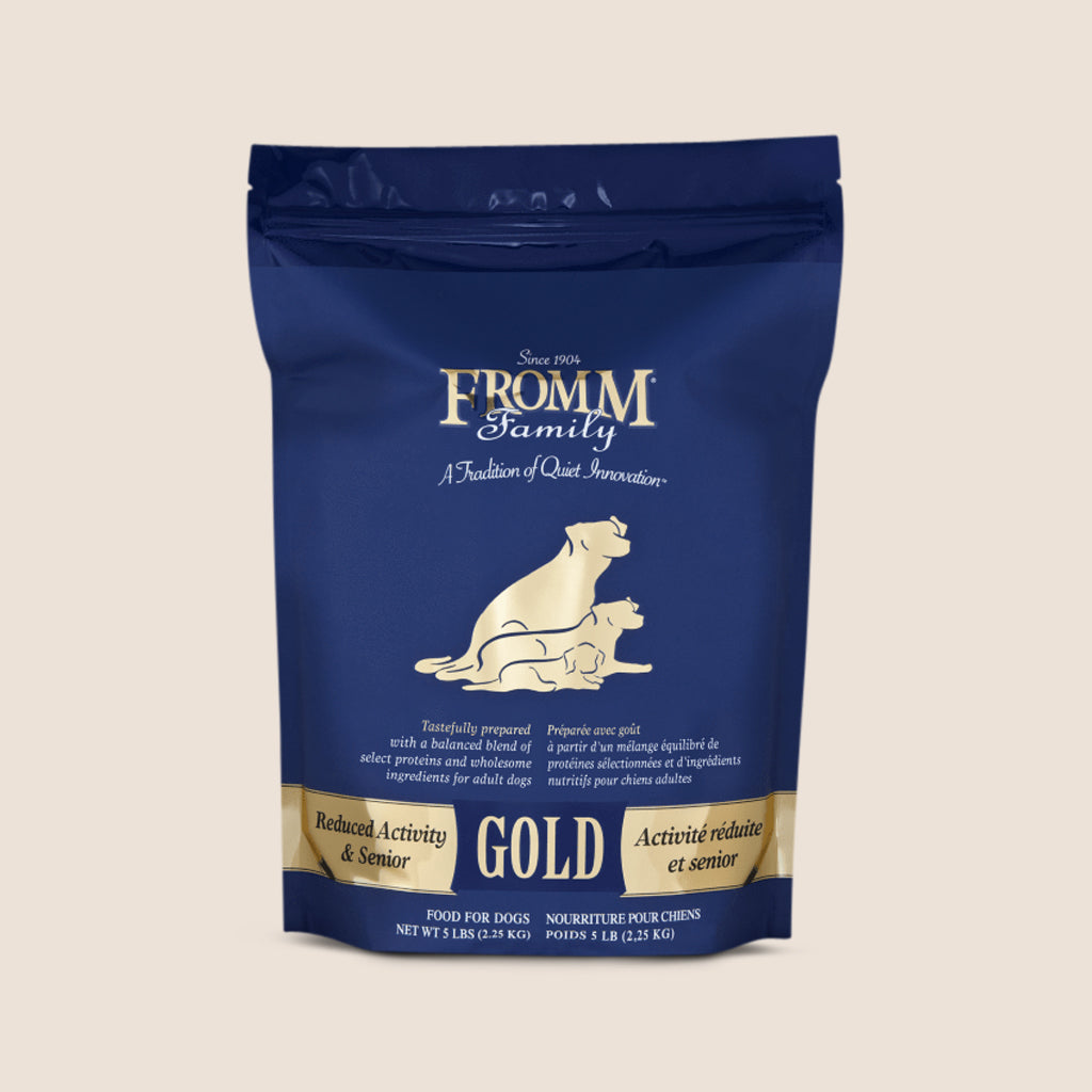 Fromm Dry Dog Food Fromm Gold - Senior and Reduced Activity Recipe