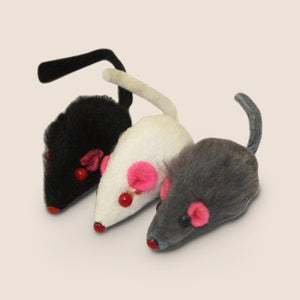 MultiPet cat toy Multipet Furry Mice Cat Toy