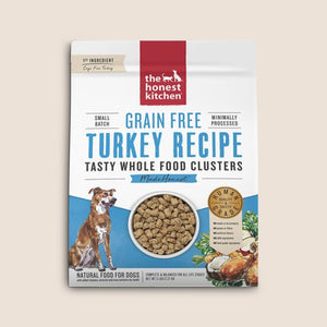 Honest Kitchen Dry Dog Food Honest Kitchen Grain Free Tasty Whole Food Clusters Turkey Recipe