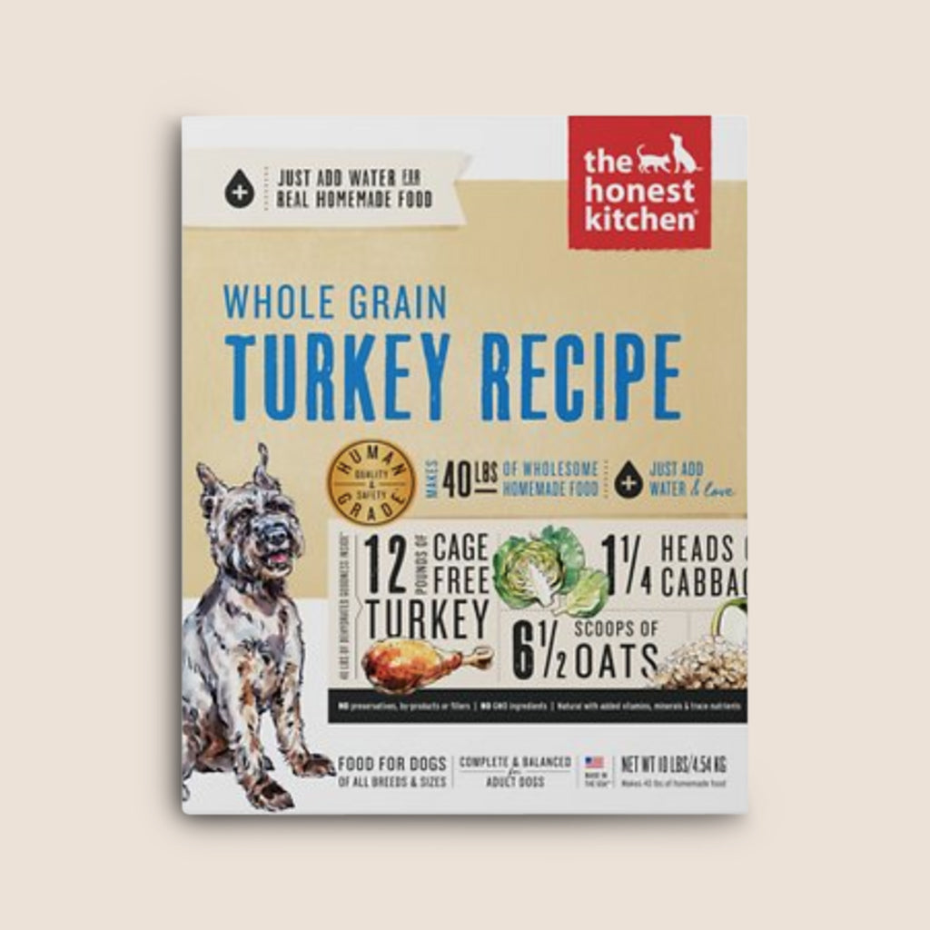 Honest Kitchen Raw Dog Food Honest Kitchen Whole Grain Dehydrated Turkey Recipe Dog Food