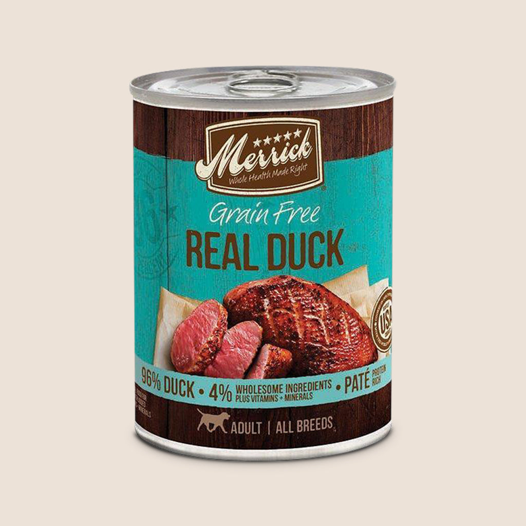 Merrick Canned Dog Food Merrick Duck - Grain Free