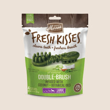 Load image into Gallery viewer, Merrick Dental Large 4ct Merrick Fresh Kisses Coconut Dental Treats