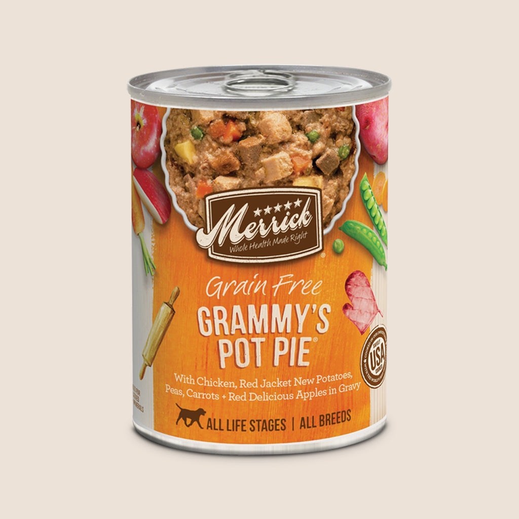 Merrick Canned Dog Food Merrick Grammy's Pot Pie - Grain Free