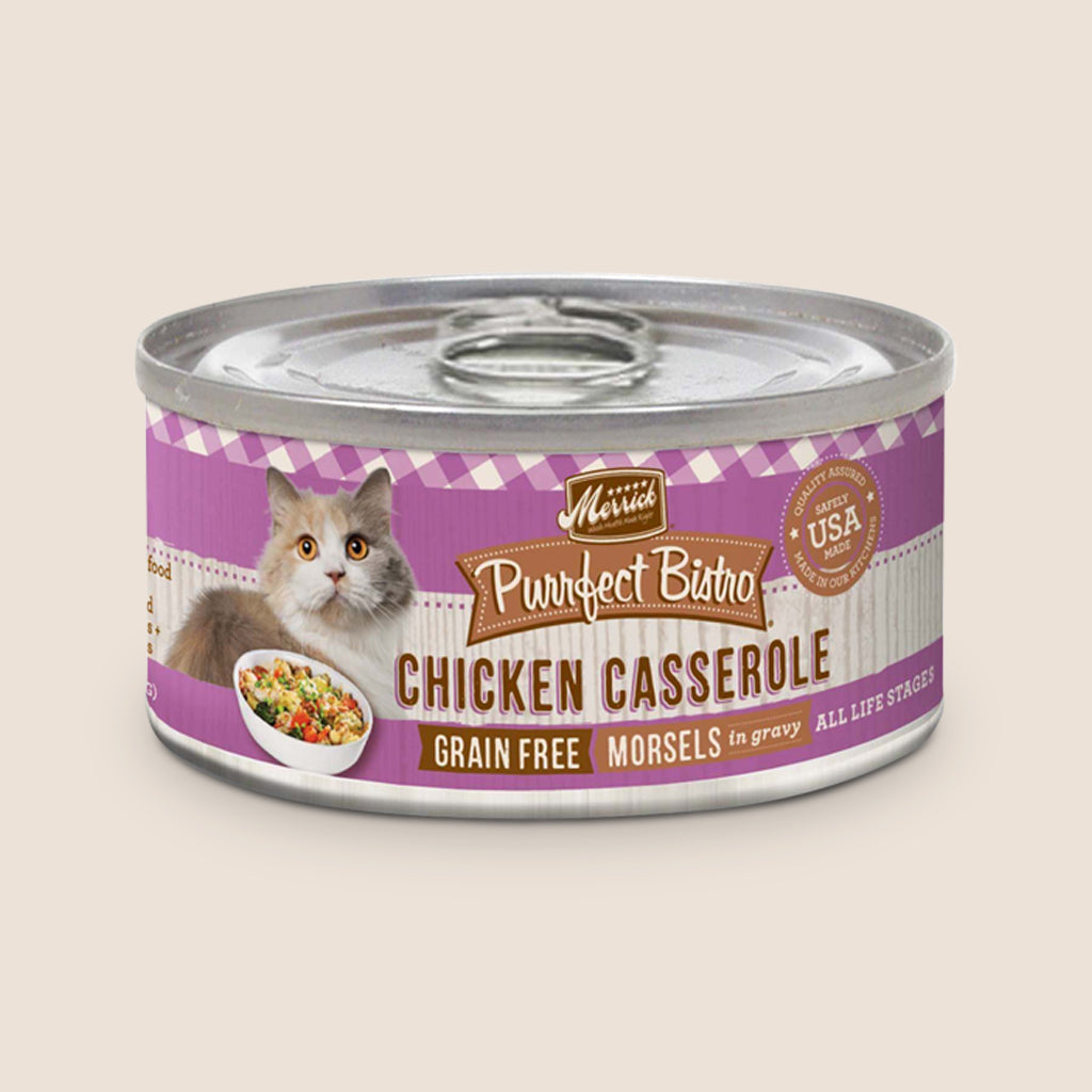Merrick Cat Food Can Merrick Purrfect Bistro Chicken Casserole