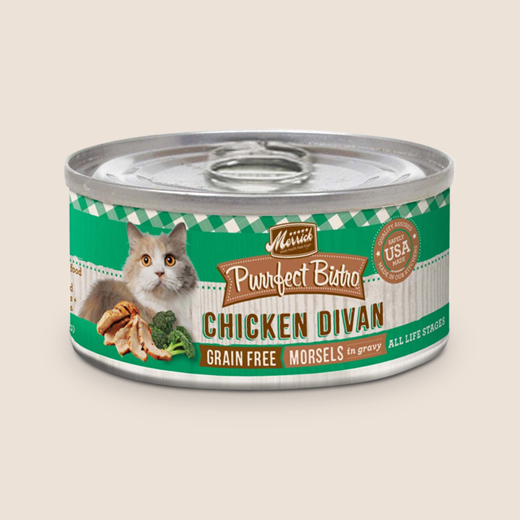 Merrick Cat Food Can Merrick Purrfect Bistro Chicken Divan