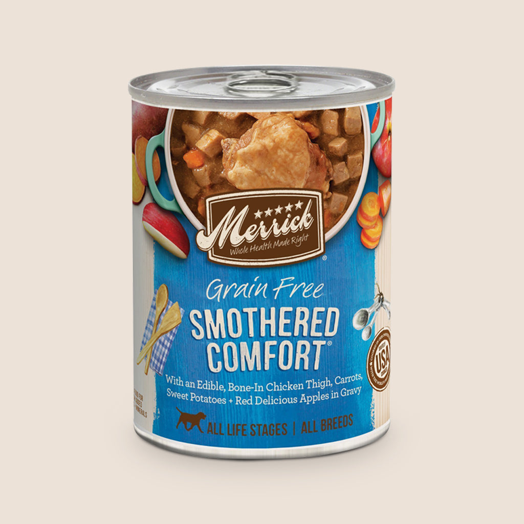 Merrick Canned Dog Food Merrick Smothered Comfort - Grain Free
