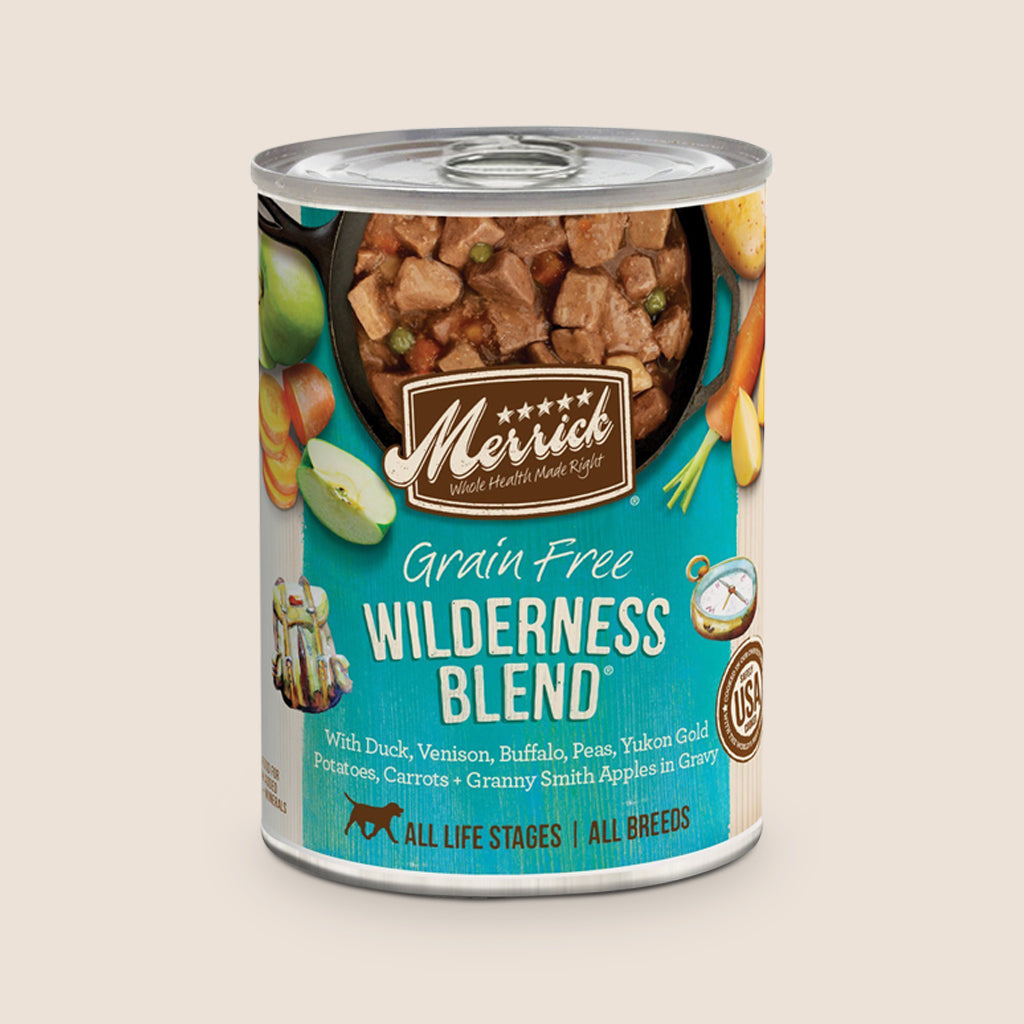 Merrick Canned Dog Food Merrick Wilderness Blend - Grain Free
