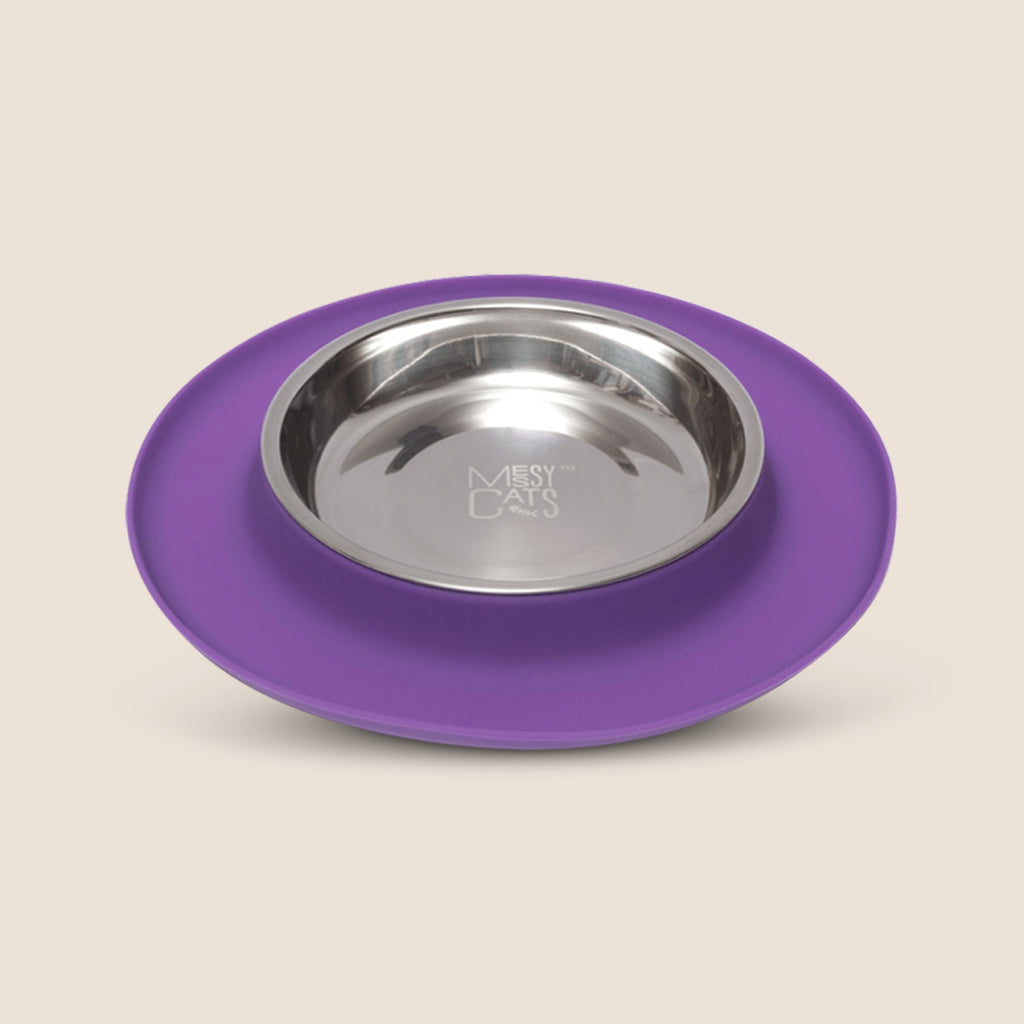 Messy Mutts Accessories Messy Cats Silicone Single Feeder