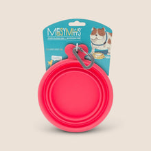 Load image into Gallery viewer, Messy Mutts Accessories Watermelon Messy Mutts Collapsible Bowl