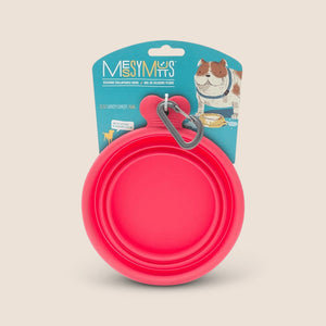 Messy Mutts Accessories Watermelon Messy Mutts Collapsible Bowl