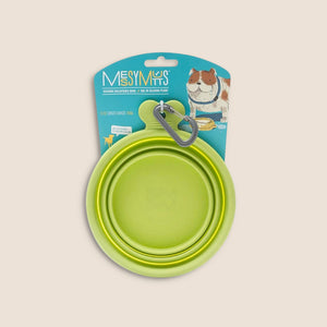 Messy Mutts Accessories Lime Messy Mutts Collapsible Bowl