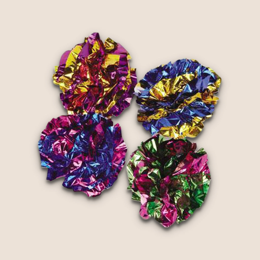 PETFAVORITES Toy Mylar Ball