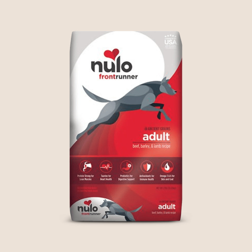 Nulo Dry Dog Food Nulo Frontrunner Adult Beef, Barley & Lamb with Ancient Grains