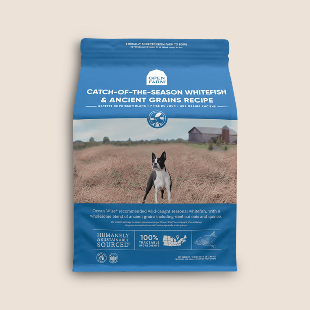 Open Farm Dry Dog Food Open Farm Catch-Of-The-Seaon Whitefish & Ancient Grains