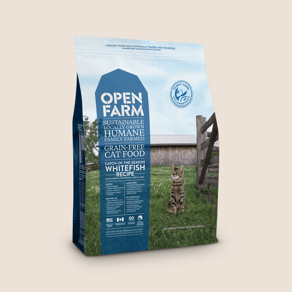 Open Farm Dry Cat Food Open Farm Catch of the Season Whitefish Grain Free Cat Food - 4 Pound Bag