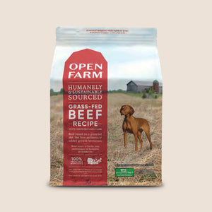 Open Farm Dry Dog Food 4.5 lb Open Farm Grass-Fed Beef Recipe