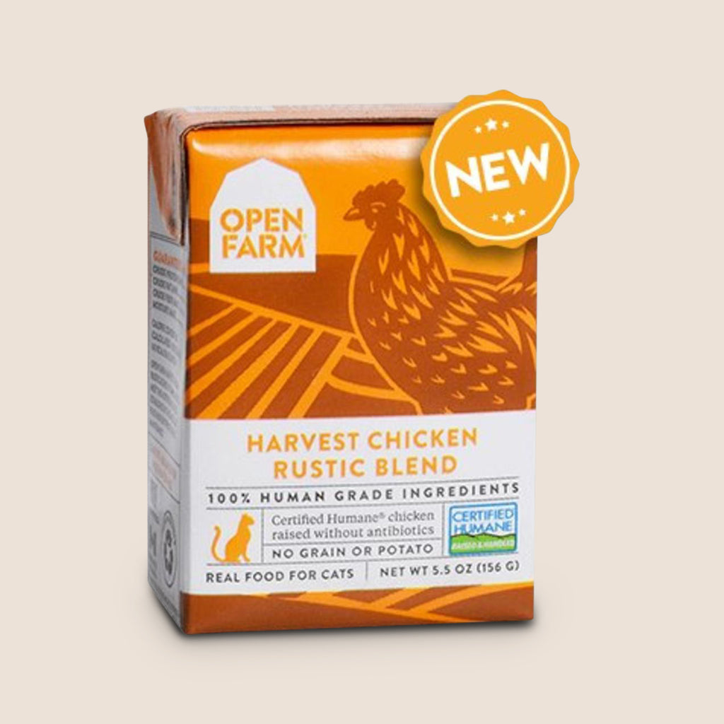 Open Farm Cat Food Can Case of 6 Open Farm Harvest Chicken Rustic Blend for Cats