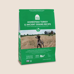 Open Farm Dry Dog Food Open Farm Homestead Turkey & Ancient Grains Dry Dog Food