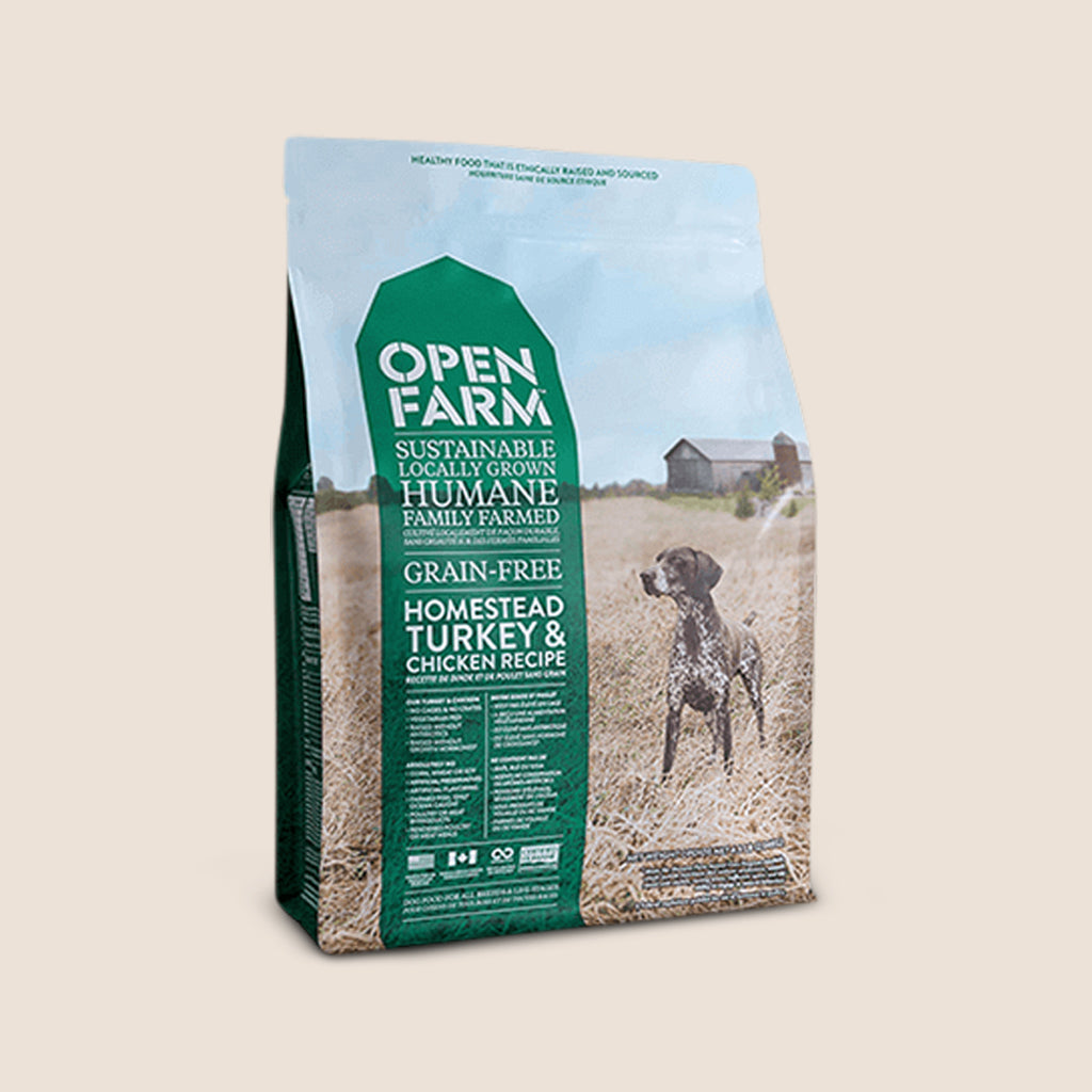 Open Farm Dry Dog Food Open Farm - Homestead Turkey and Chicken - Grain-Free Dog Food