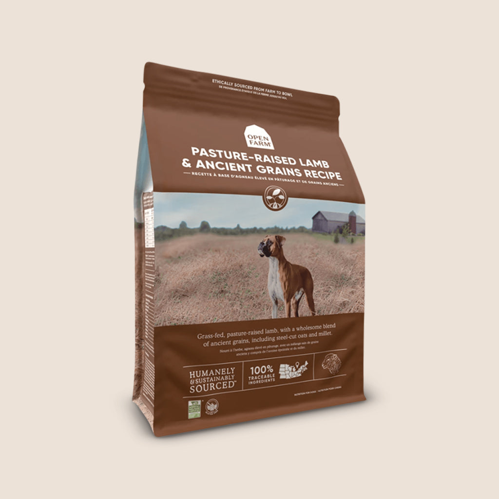 Open Farm Dry Dog Food Open Farm Pasture-Raised Lamb & Ancient Grains Dry Dog Food