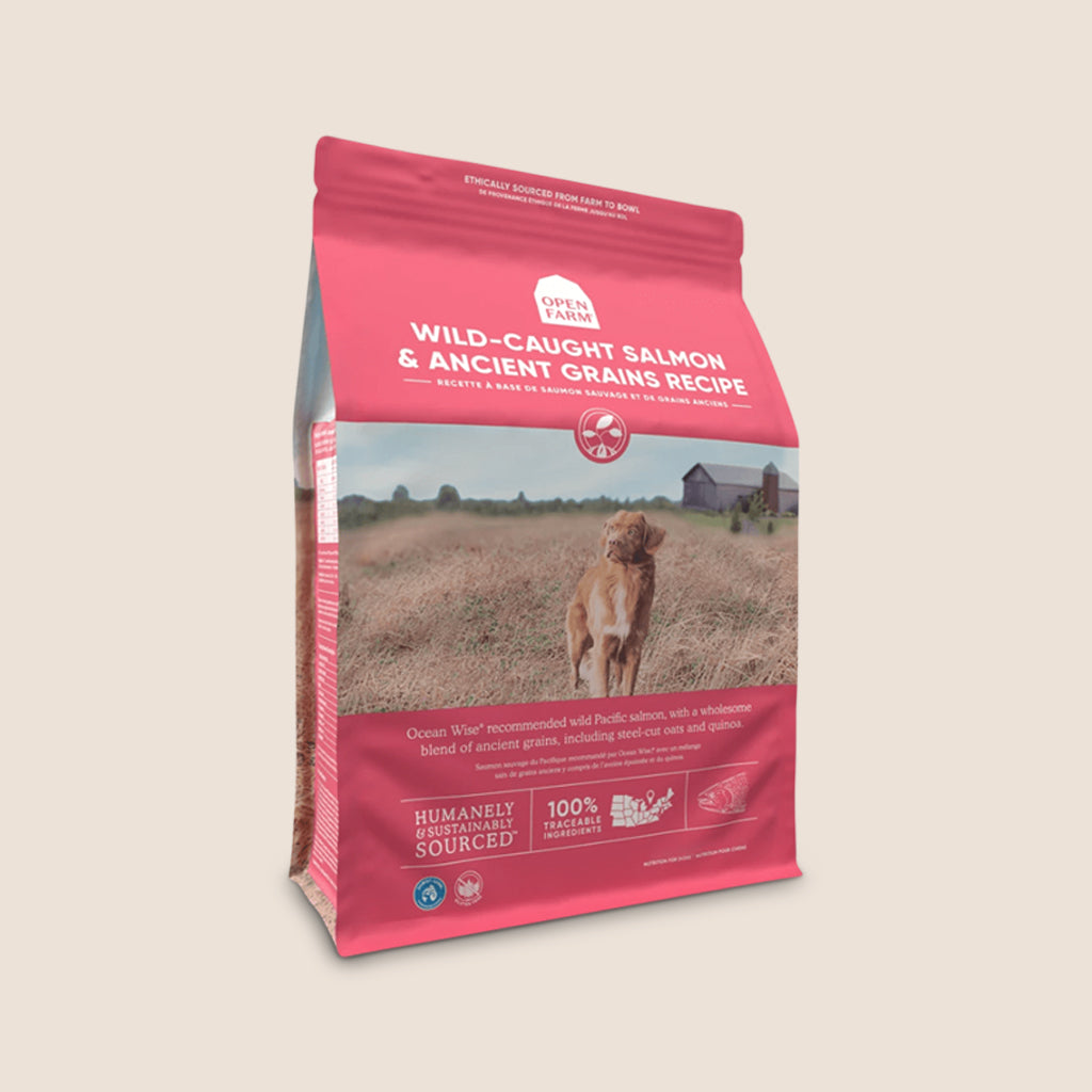 Open Farm Dry Dog Food Open Farm Wild-Caught Salmon & Ancient Grains Dry Dog Food