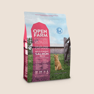 Open Farm Dry Cat Food Open Farm Wild-Caughty Salmon Grain-Free Cat Food - 4 Pound Bag