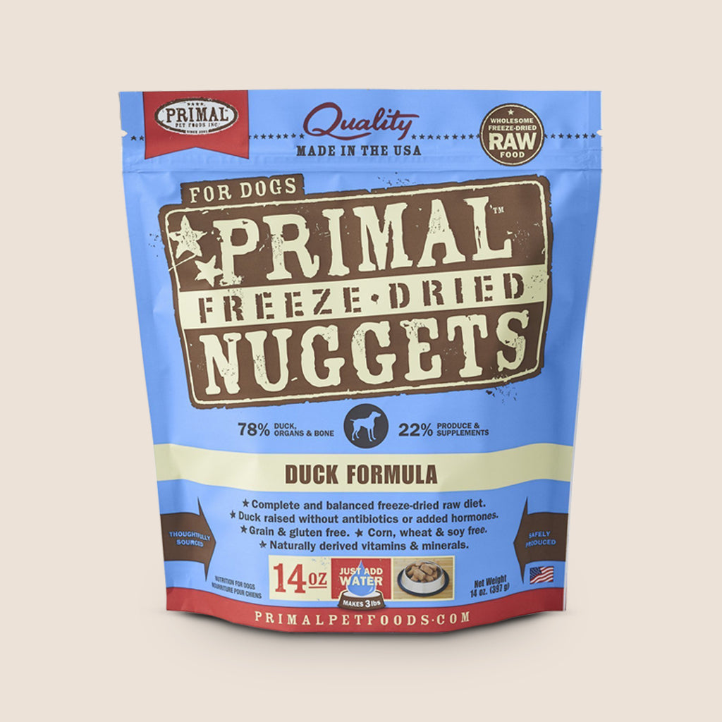 Primal Raw Dog Food Primal Duck - Freeze Dried