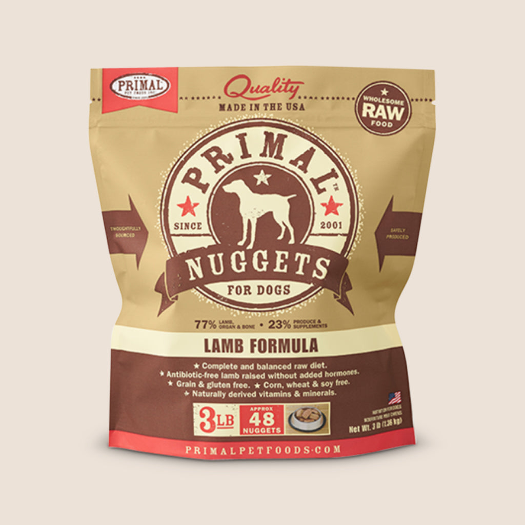 Primal Raw Dog Food Primal Lamb - Frozen Raw