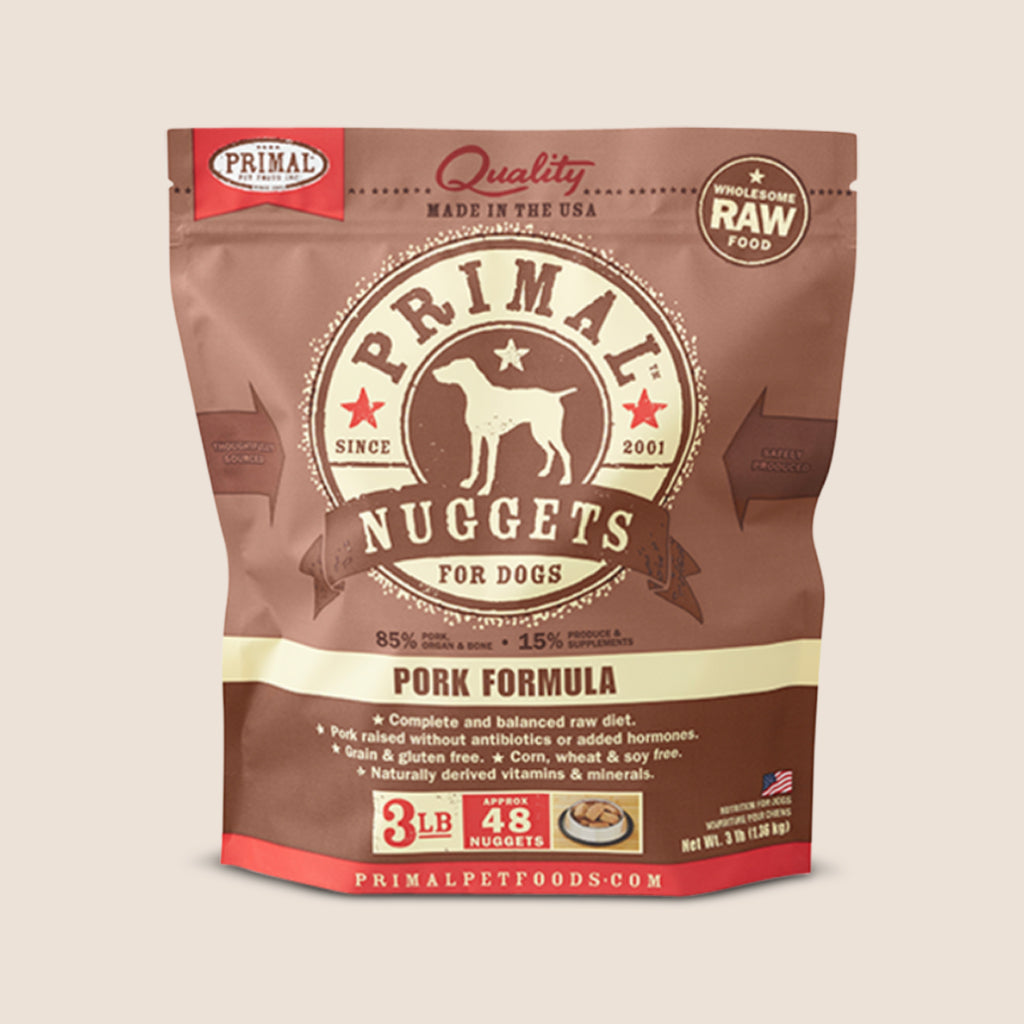 Primal Raw Dog Food Primal Pork - Frozen Raw