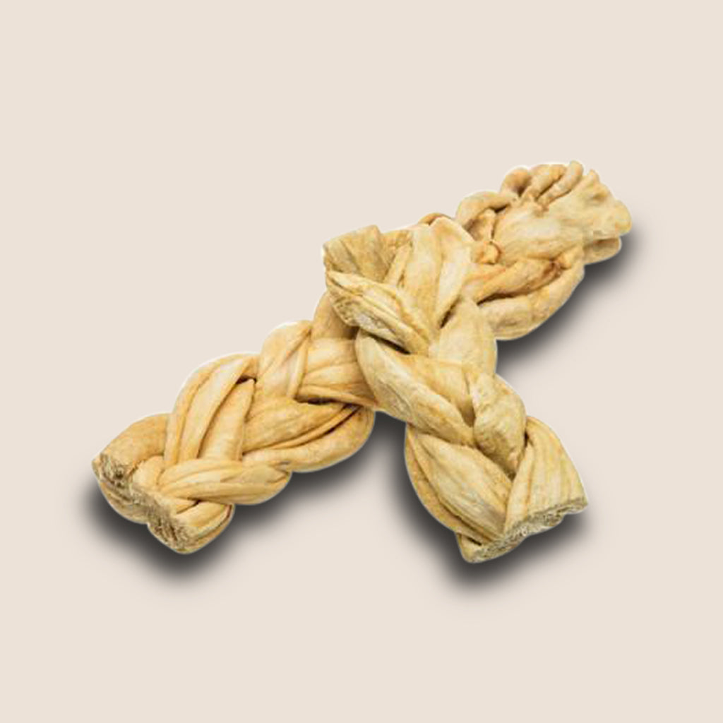 Red Barn Naturals Chews Redbarn Puff Braid Beef Esophagus Dog Treat